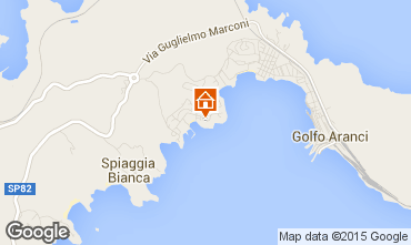 Mappa Golfo Aranci Appartamento 83848