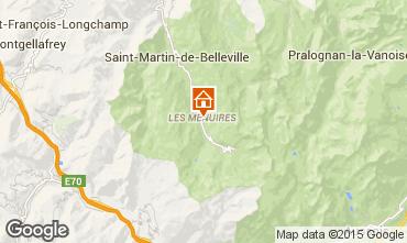 Mappa Les Menuires Appartamento 37394