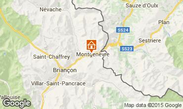 Mappa Monginevro Chalet 77618