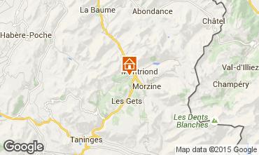 Mappa Morzine Chalet 80713