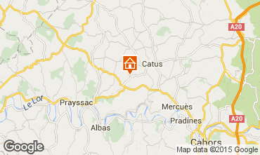 Mappa Cahors Agriturismo 12666