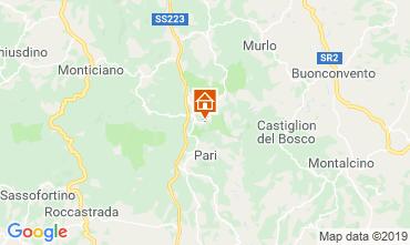 Mappa Monticiano Agriturismo 120032