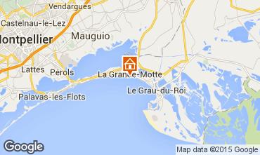 Mappa La Grande Motte Appartamento 82525