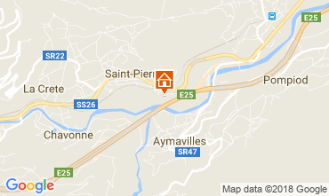 Mappa Saint Pierre Appartamento 115958