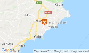 Mappa Benissa Villa  53480