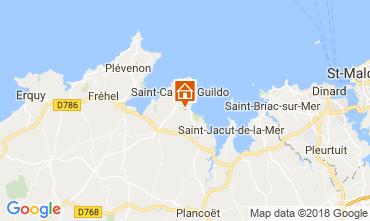 Mappa Saint Cast Le Guildo Casa 113632