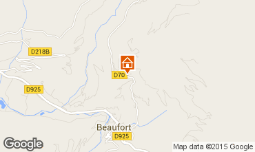 Mappa Areches Beaufort Appartamento 360
