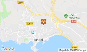 Mappa Bandol Appartamento 108623