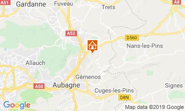 Mappa Auriol Agriturismo 118027