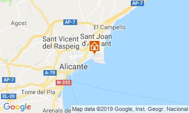 Mappa Alicante Appartamento 118634