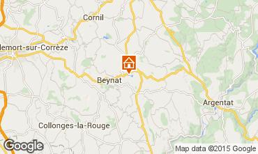 Mappa Brive-la-Gaillarde Chalet 99381