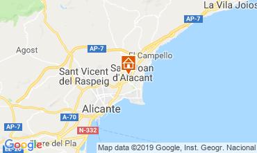 Mappa Alicante Appartamento 117974