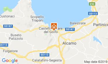 Mappa Castellammare del Golfo Villa  103445
