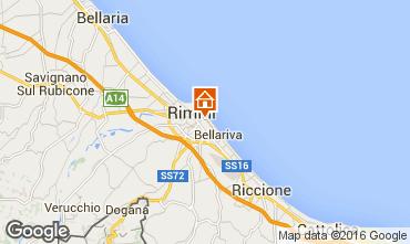 Mappa Rimini Appartamento 100445