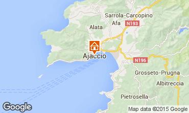 Mappa Ajaccio Appartamento 73148