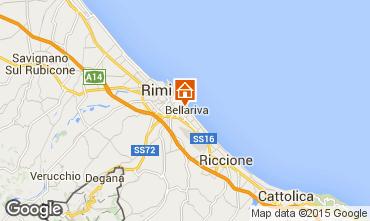 Mappa Rimini Appartamento 97387