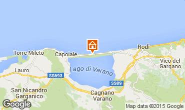 Mappa Gargano Appartamento 96259
