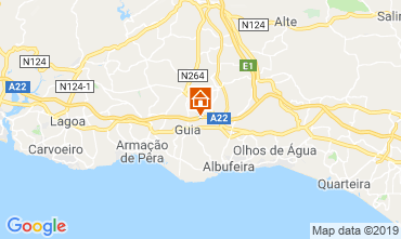 Mappa Albufeira Villa  118399