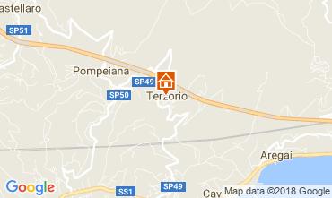 Mappa Santo Stefano al Mare Appartamento 61681