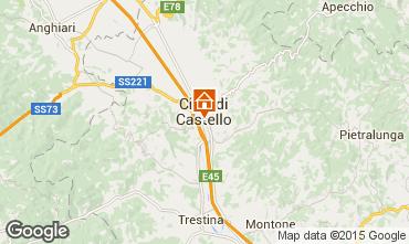 Mappa Città di Castello Appartamento 74064
