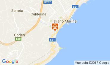 Mappa Diano Marina Appartamento 108916