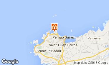 Mappa Perros-Guirec Monolocale 16295