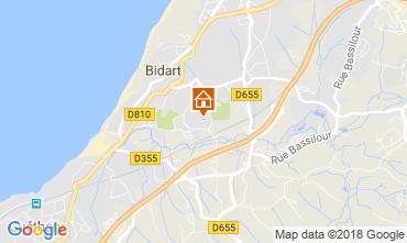 Mappa Bidart Monolocale 115678
