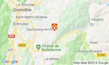 Mappa Chamrousse Chalet 742