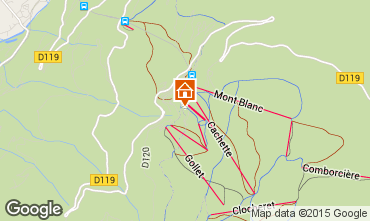 Mappa Les Arcs Appartamento 38907
