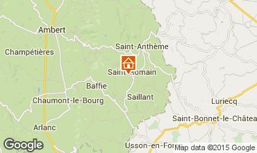 Mappa Saint-Anthème Agriturismo 85778