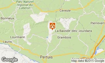 Mappa La Tour d'Aigues Villa  24563
