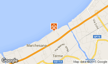 Mappa Terme Vigliatore Casa 85939