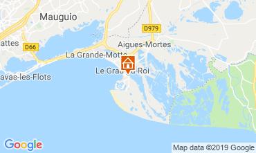 Mappa Le Grau du Roi Monolocale 93396