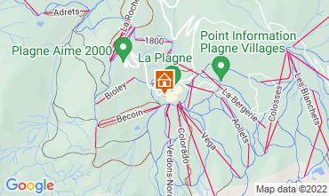 Mappa La Plagne Chalet 118998