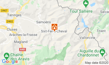 Mappa Sixt Fer à Cheval Chalet 116957