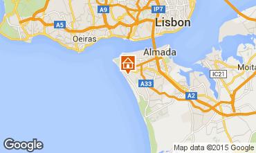 Mappa Costa de Caparica Appartamento 52423