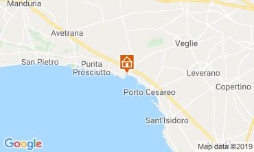 Mappa Porto Cesareo Appartamento 117577