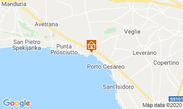 Mappa Porto Cesareo Appartamento 104436