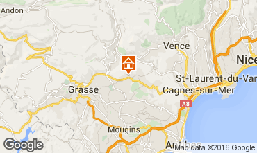 Mappa Grasse Monolocale 94327
