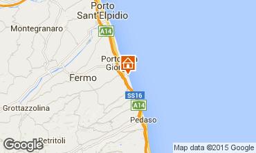 Mappa Porto San Giorgio Appartamento 86676