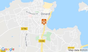 Mappa Dinard Appartamento 103786