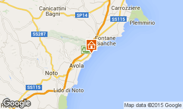Mappa Avola Monolocale 95898