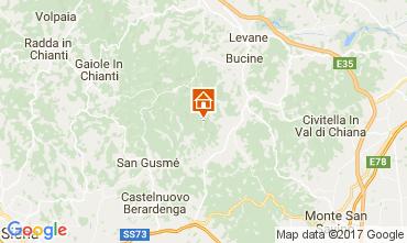 Mappa Siena Agriturismo 109624