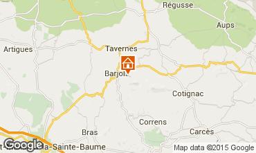 Mappa Barjols Appartamento 96501