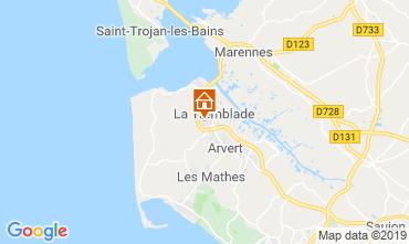 Mappa La Tremblade Casa mobile 119746