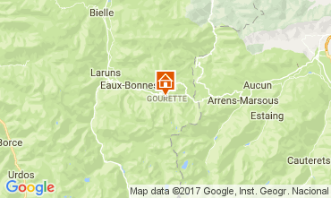 Mappa Gourette Appartamento 68545