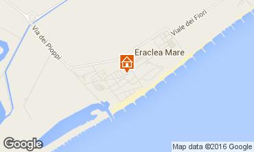 Mappa Eraclea Mare Appartamento 90467