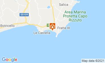 Mappa Isola di Capo Rizzuto Appartamento 79202