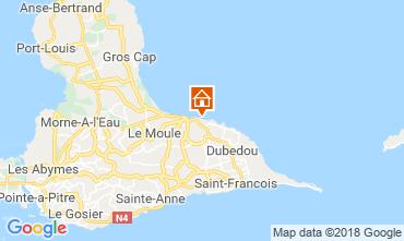 Mappa Le Moule Appartamento 117382
