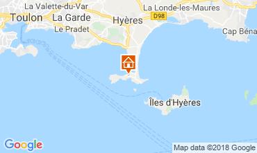 Mappa Hyères Appartamento 116393